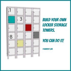 Toy and Shoe Locker Storage – Free Plans