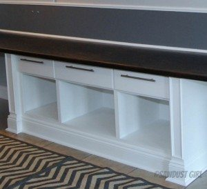 Built-in Cabinets for Printer Storage –  Cara Collection – free plans