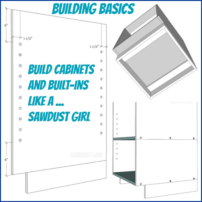 Cabinet And Built In Building Basics Sawdust Girl 174