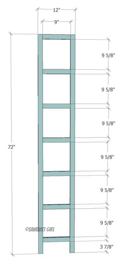 Faceframe for woodworking plans -bookcase storage locker
