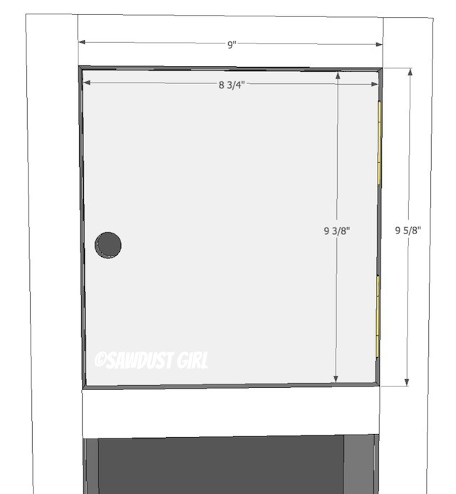 Doors for DIY lockers