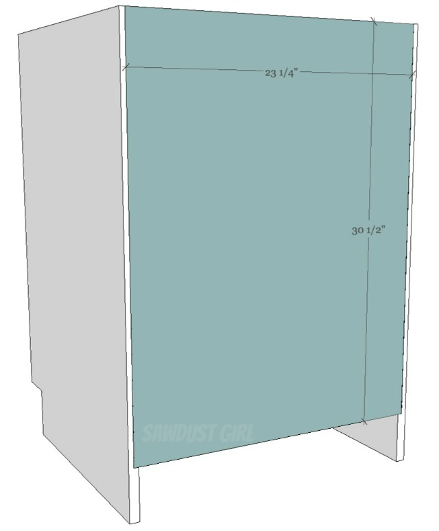 Detailed tutorial to show you how to build a cabinet with dado joints tom Sawdust Girl.
