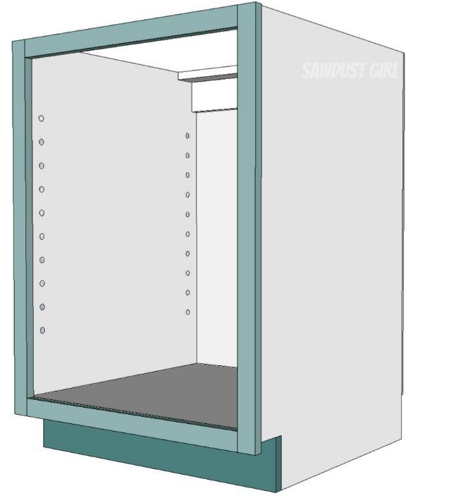 Three ways to build a basic kitchen cabinet