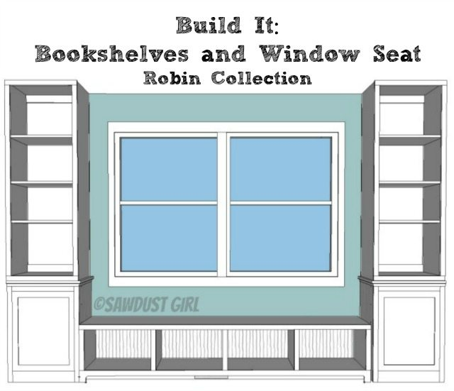 Awesome Window Seat Plans  WoodWorking Projects Amp Plans