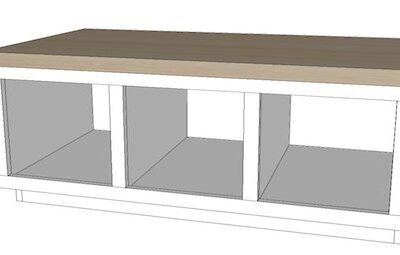"Built in Bench Plans – the ""Malisa Bench"""
