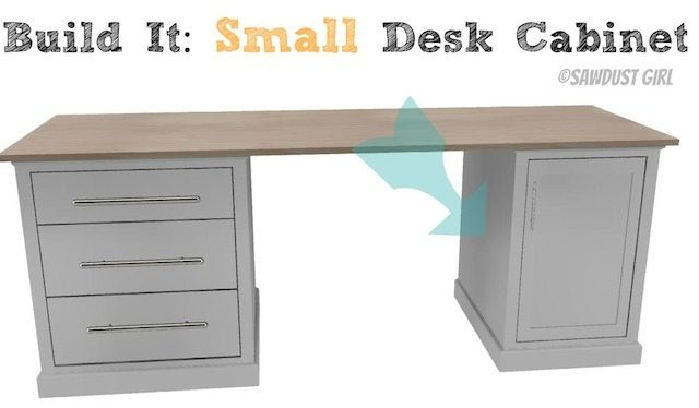 small desk cabinet- madison avenue collection - sawdust girl®