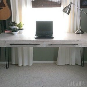 DIY Plywood Desk