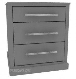 Large Desk Cabinet – Madison Avenue Collection