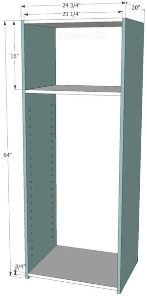 Free plans to show you How to build a bookshelf