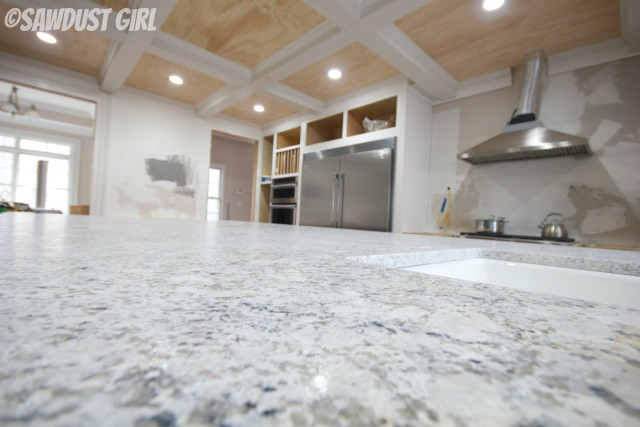 Andino white granite countertops