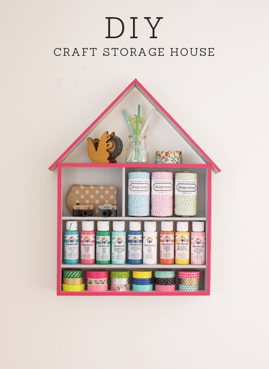 15 awesome diy storage ideas sawdust girl Homemade craft storage ideas