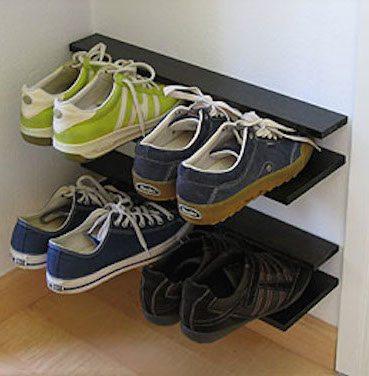 Creative Shoe Storage Solution Sawdust Girl 174
