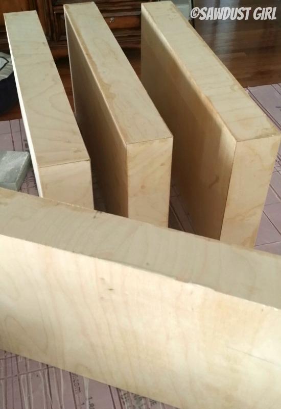How to make wall shelving