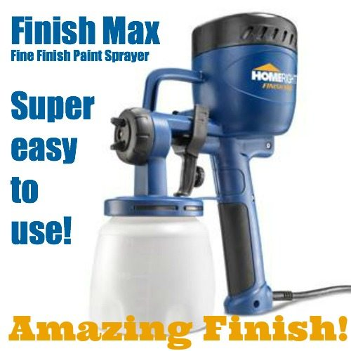 Homeright Finish Max Fine Finish Sprayer Sawdust Girl