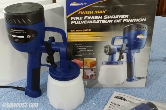Little paint sprayer that packs a punch