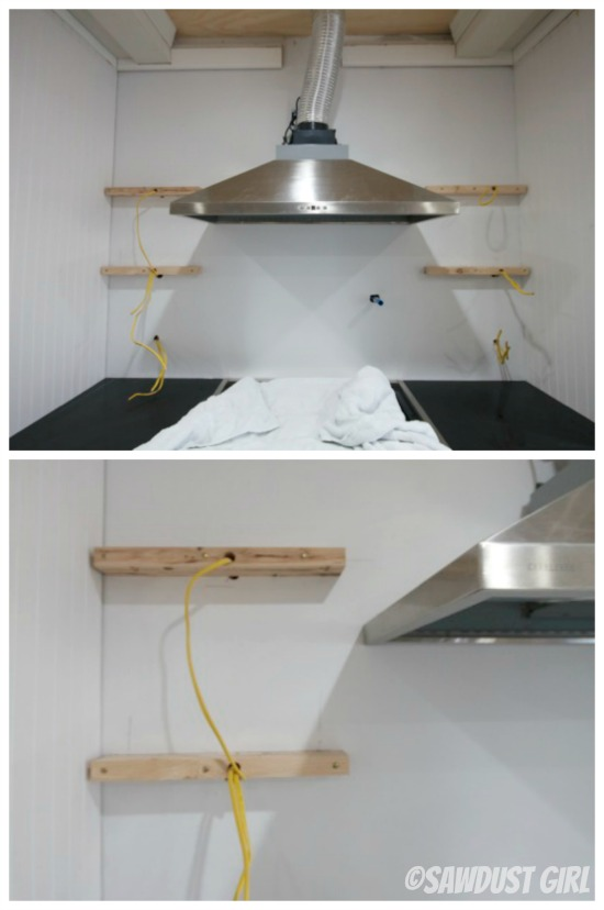 How to Install Floating Shelves Sawdust Girl