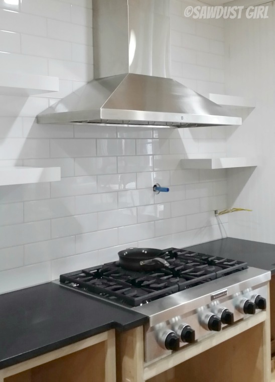 4x10 Subway Tile Kitchen
