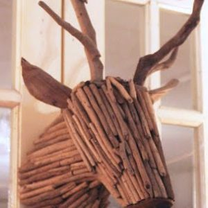 Unique wall decor – twig deer