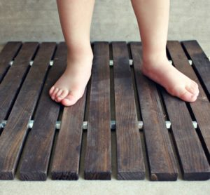 Wood Slat Door Mat