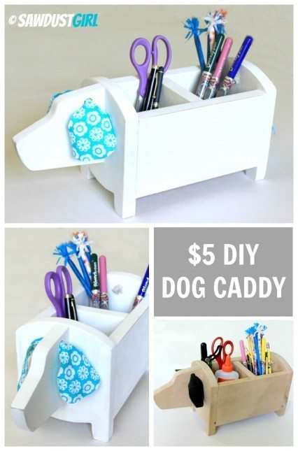 DIY Dog Caddy