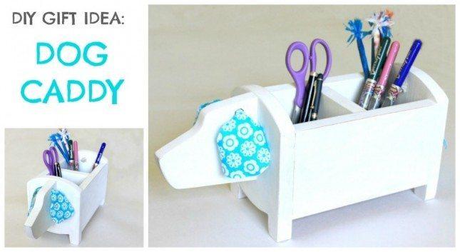 DIY Gift Idea: $5 Dog Storage Caddy