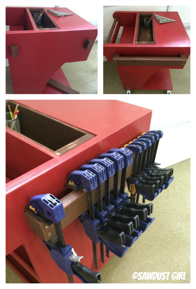 mobile clamp storage