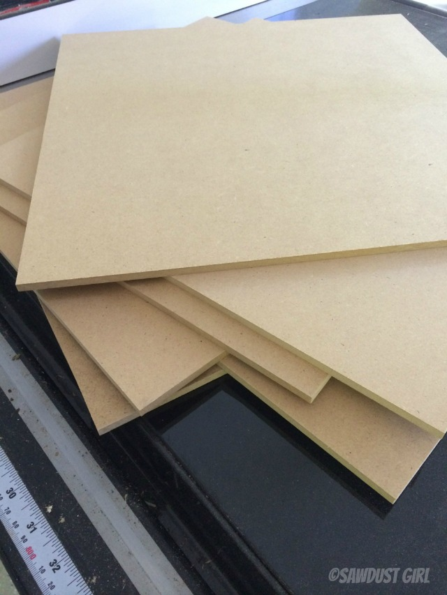 Making diy memo boards