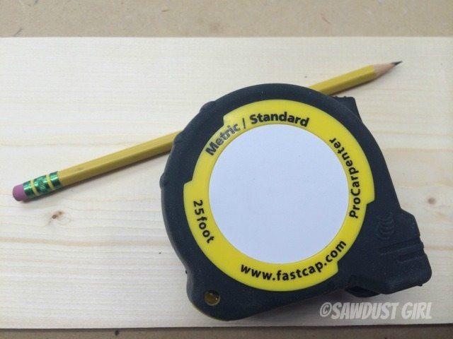 Metric and Standard tape measure