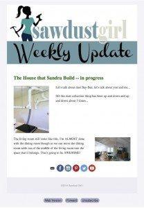 New Weekly Updates (behind the scenes)