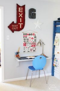 Wall Mounted Desk Tutorial