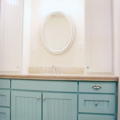 Andrea's Bathroom Vanity – part 2
