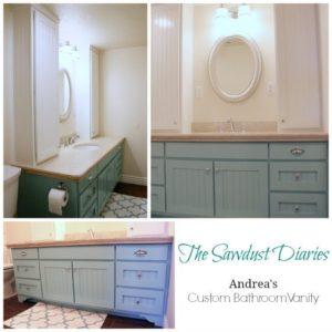 Andrea's Bathroom Vanity – part 2