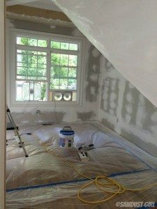 How to Reduce Drywall Dust when Sanding