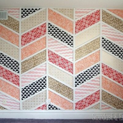 Patchwork Accent Wall