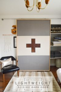 Lightweight Sliding Barn Door