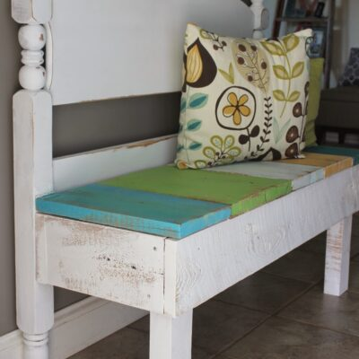 DIY Bench With Storage