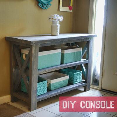 Custom Console Table