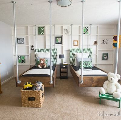 DIY Hanging Beds