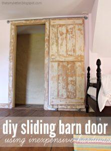 Sliding Barn Door DIY