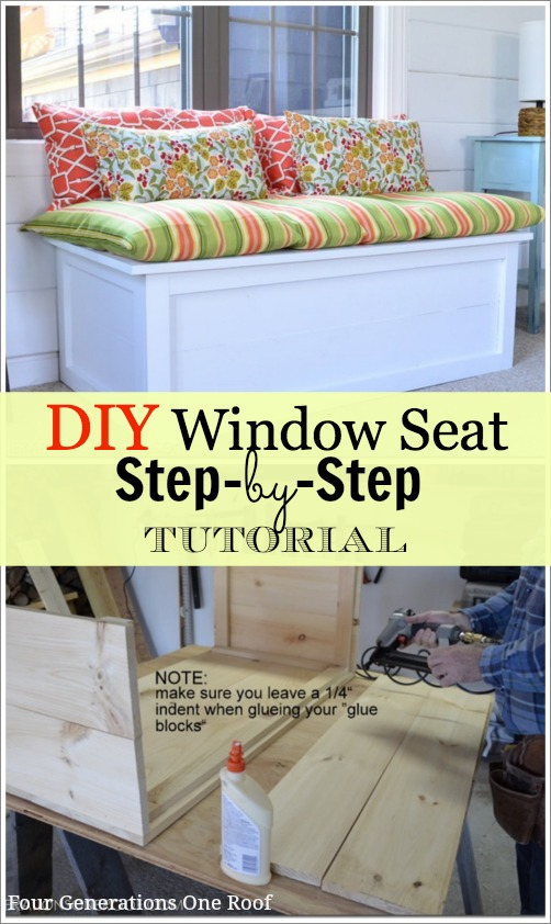DIY Window Seat Tutorial