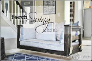 Porch Swing Tutorial