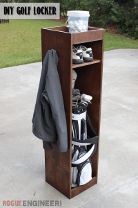DIY Golf Locker