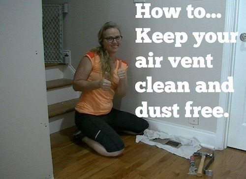 How To Keep Your Air Vents Clean During Renovation