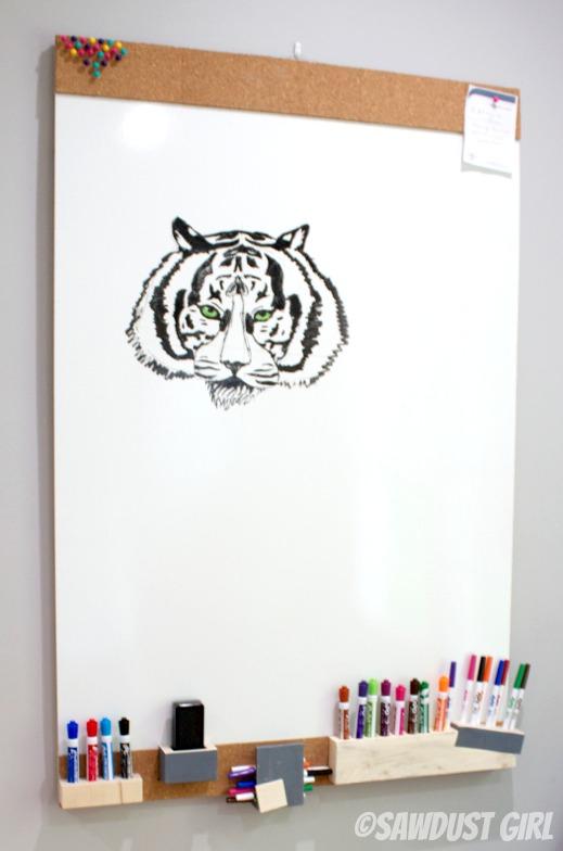DIY white board