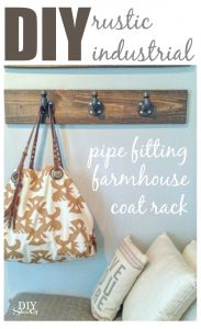 DIY Farmhouse Coat Rack