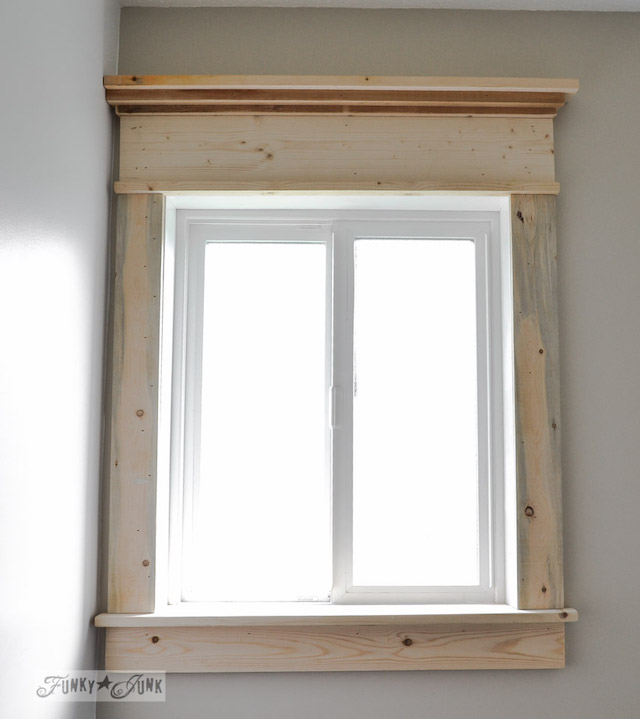 Make A Farmhouse Window
