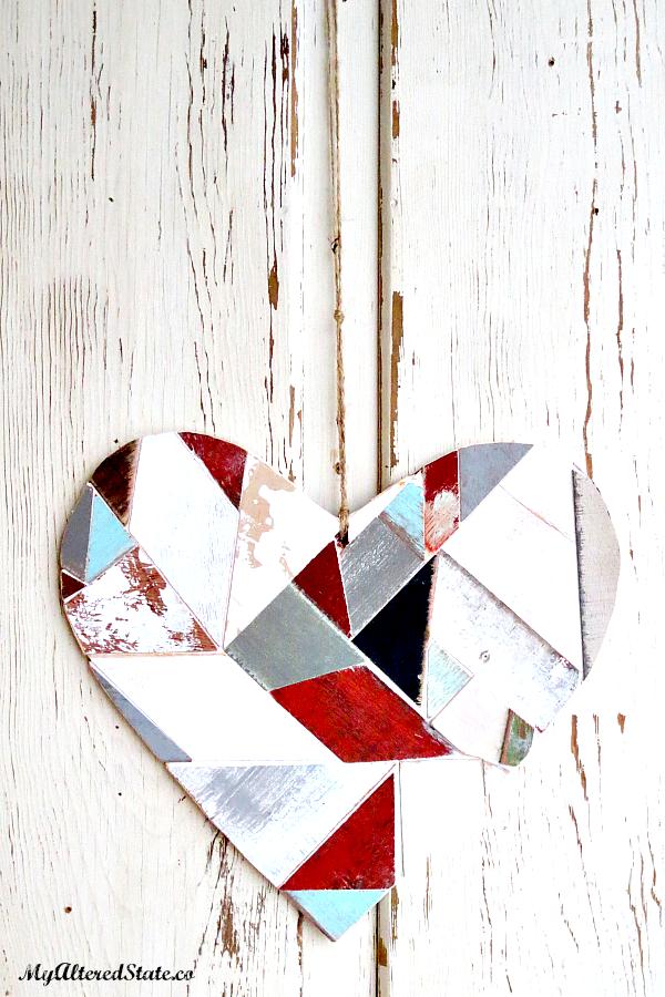 Scrap Wood Hearts