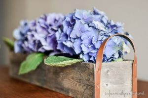 DIY Flower Trough