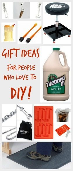 Fun and Inexpensive Gift ideas for DIY'ers