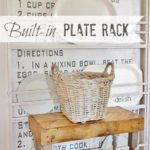 Built-In Plate Rack